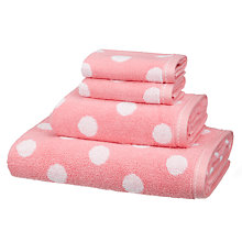 Buy little home at John Lewis Spot Towel Bale Online at johnlewis.com