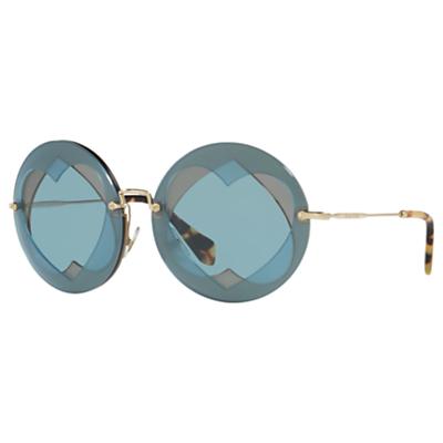 Miu Miu MU 01SS Round Sunglasses