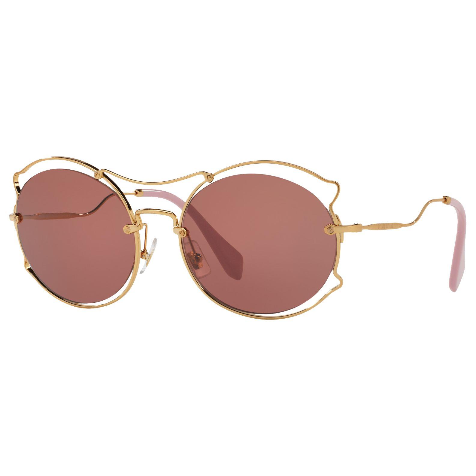Miu Miu Miu Miu MU 50SS Geometric Sunglasses