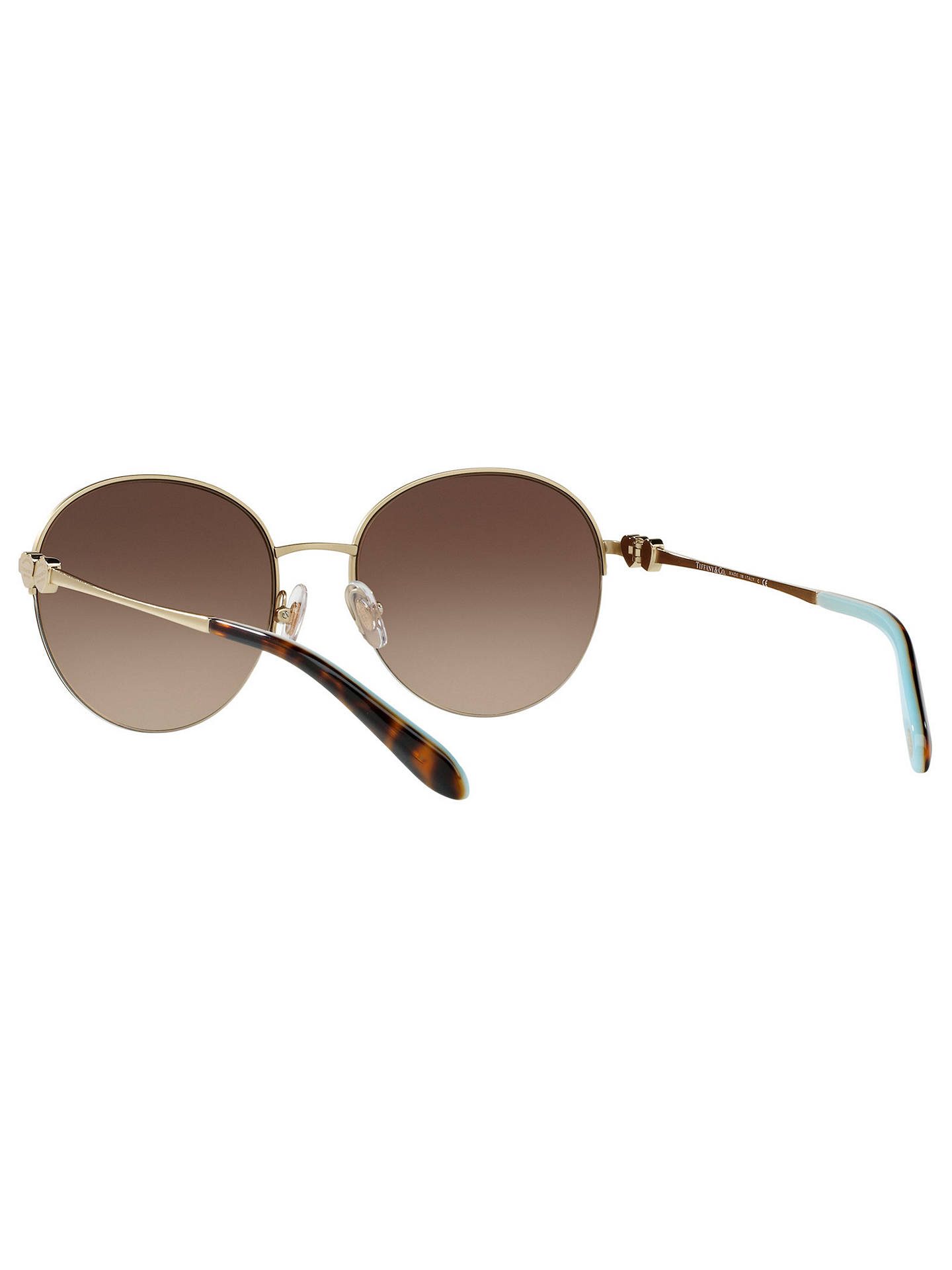 0ee8ac22dae Tiffany   Co TF3053 Round Sunglasses at John Lewis   Partners