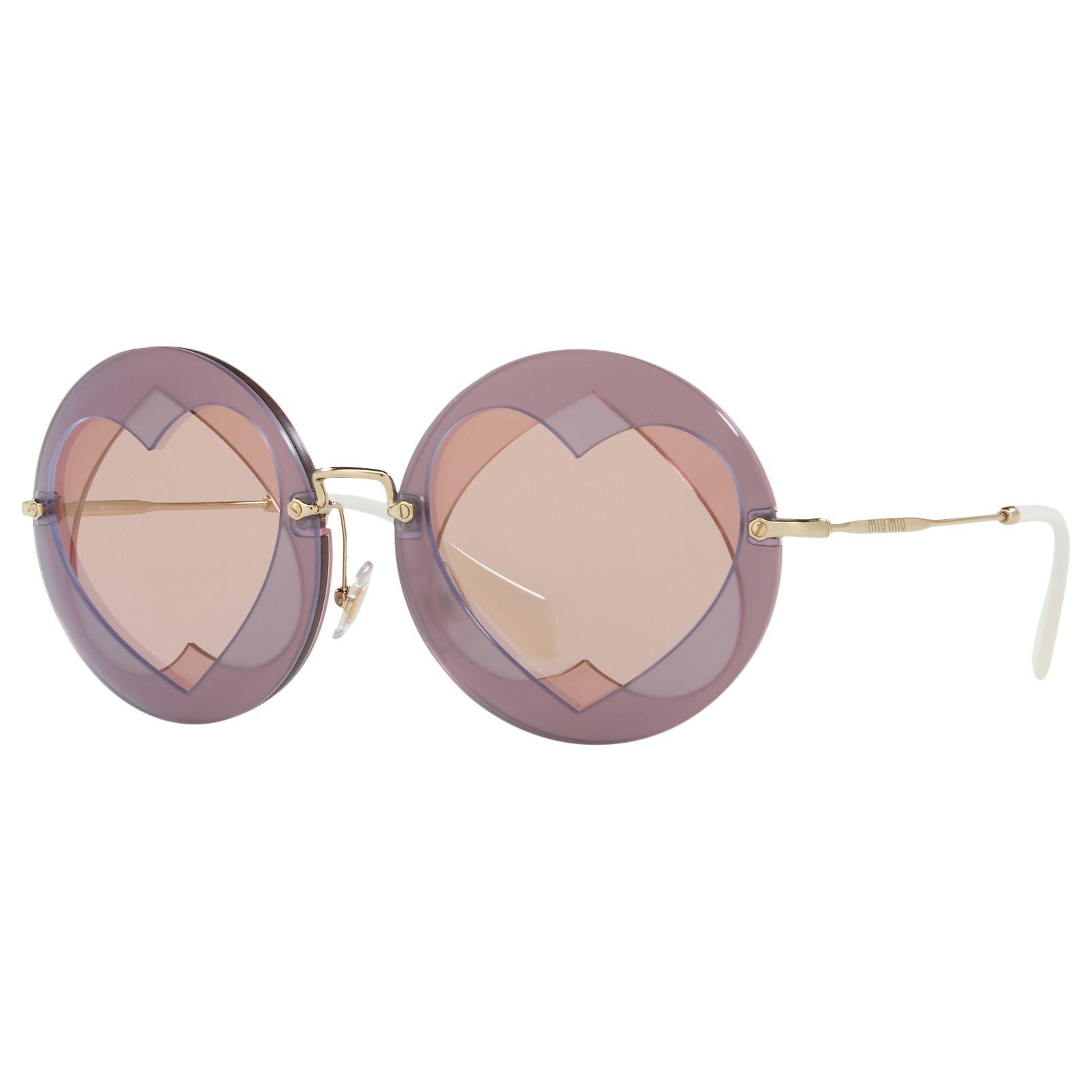 Miu Miu Miu Miu MU 01SS Round Sunglasses
