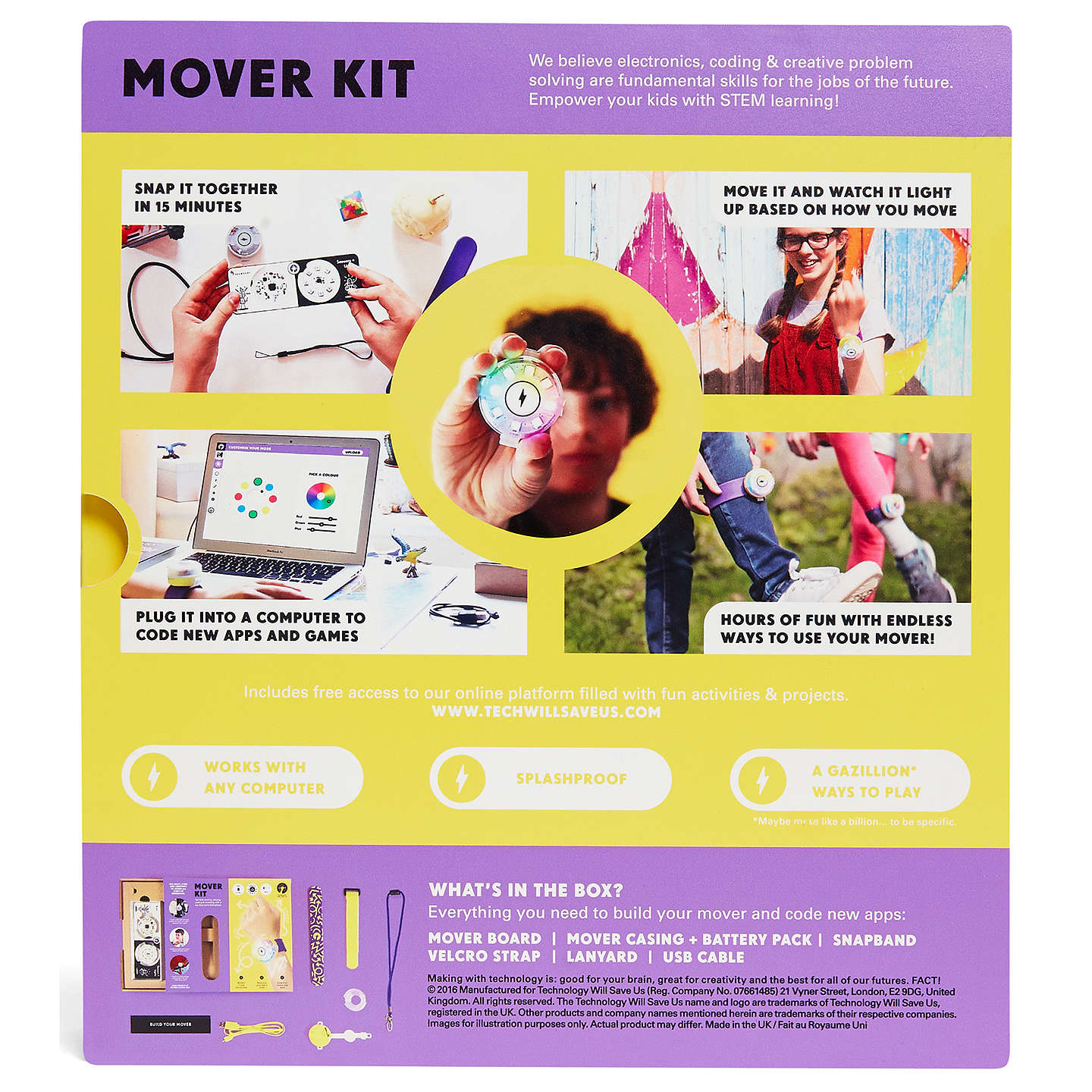 BuyTechnology Will Save Us Mover Kit Online at johnlewis.com