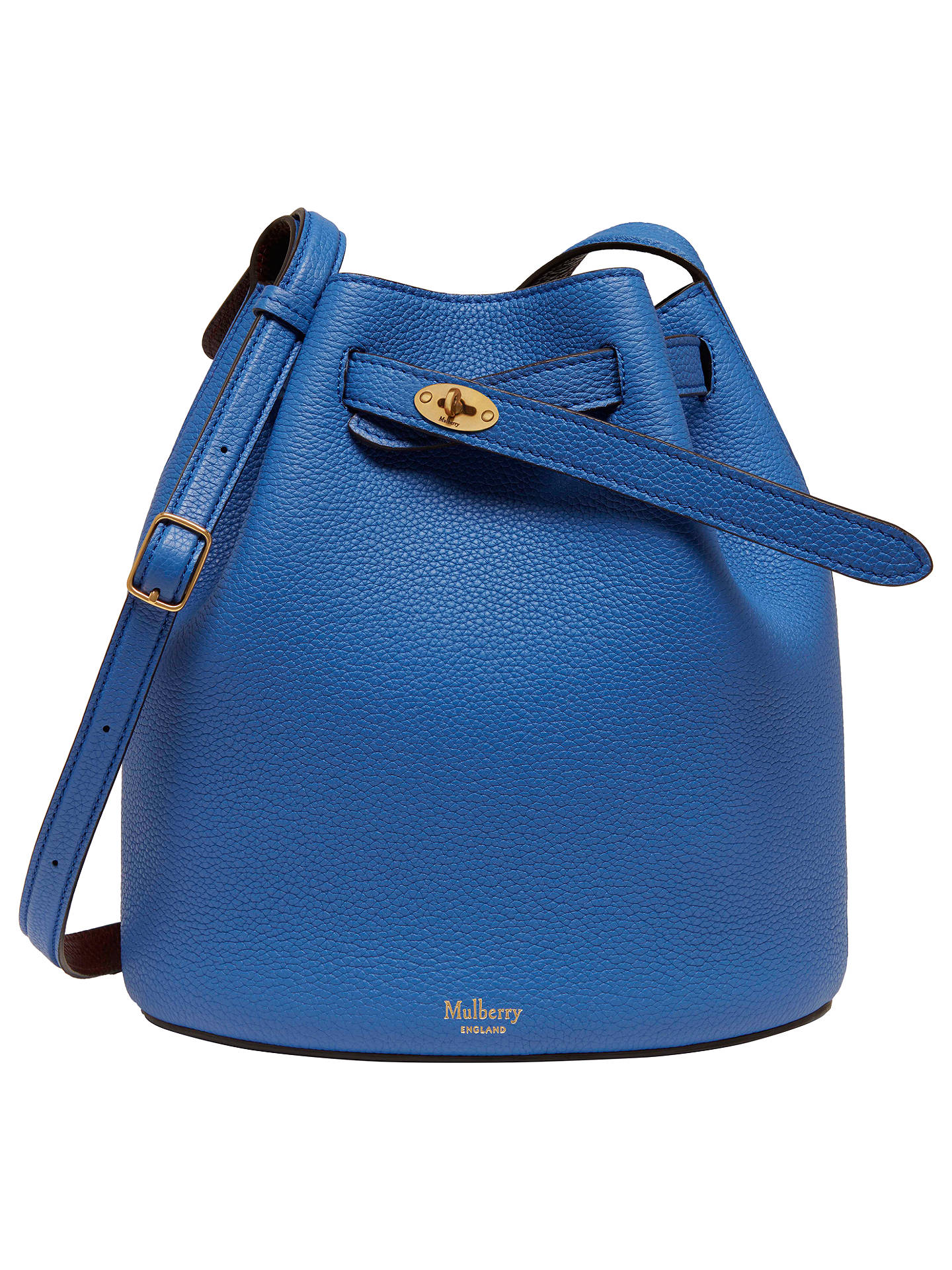 58e535456a Mulberry Abbey Small Classic Grain Bucket Bag at John Lewis   Partners