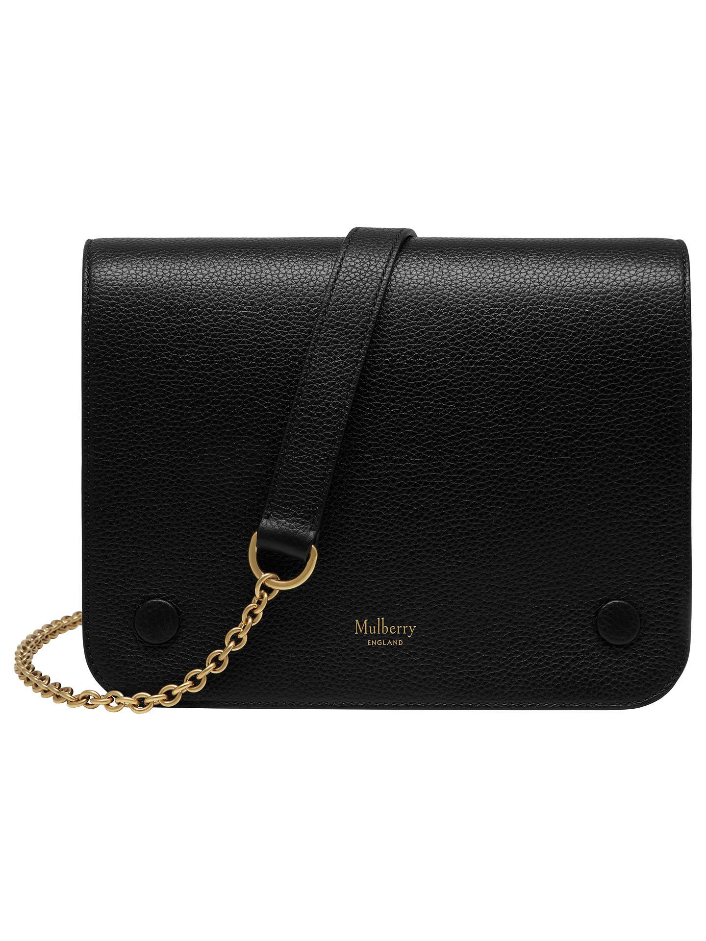 BuyMulberry Clifton Classic Grain Leather Across Body Bag 76c17e25c5a2c