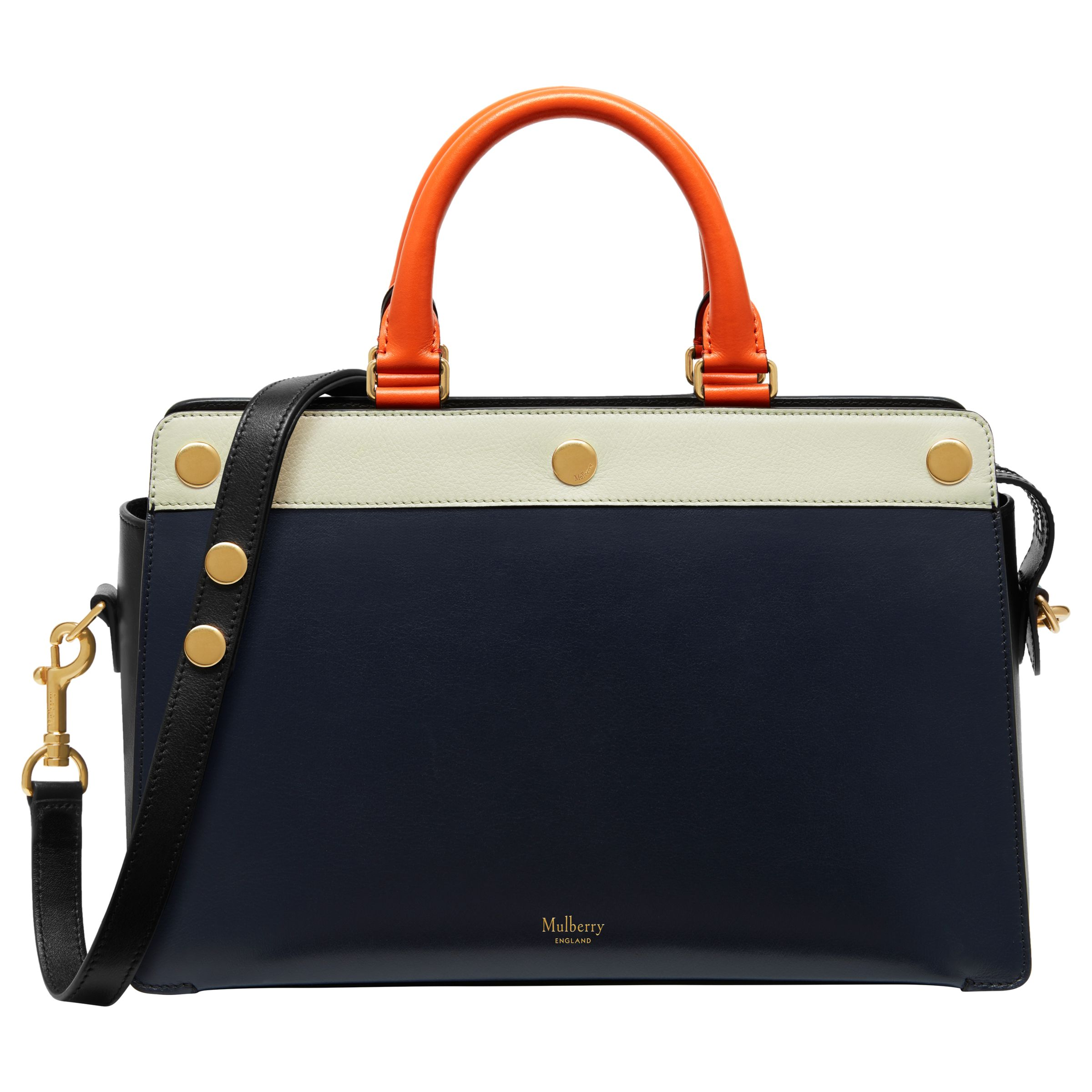 5ffe00383250 Mulberry Chester Grain Leather Bag at John Lewis   Partners