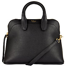 Buy Mulberry Colville Small Leather Tote Bag, Black Online at johnlewis.com