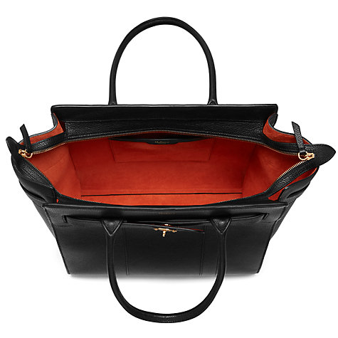568a35e35e9 ... uk buy mulberry bayswater zipped leather bag online at johnlewis 4ce7a  b46af ...