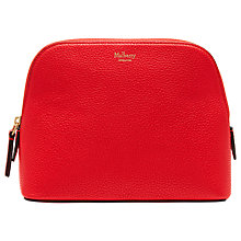 Buy Mulberry Bugatti Leather Cosmetic Pouch Online at johnlewis.com