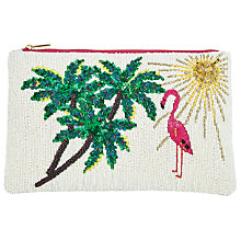 Buy John Lewis Motif Zip Top Clutch Bag, Multi Online at johnlewis.com