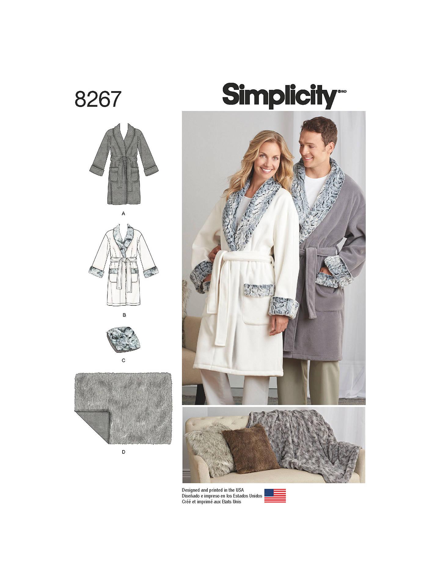 adba46a342 BuySimplicity Unisex Robes