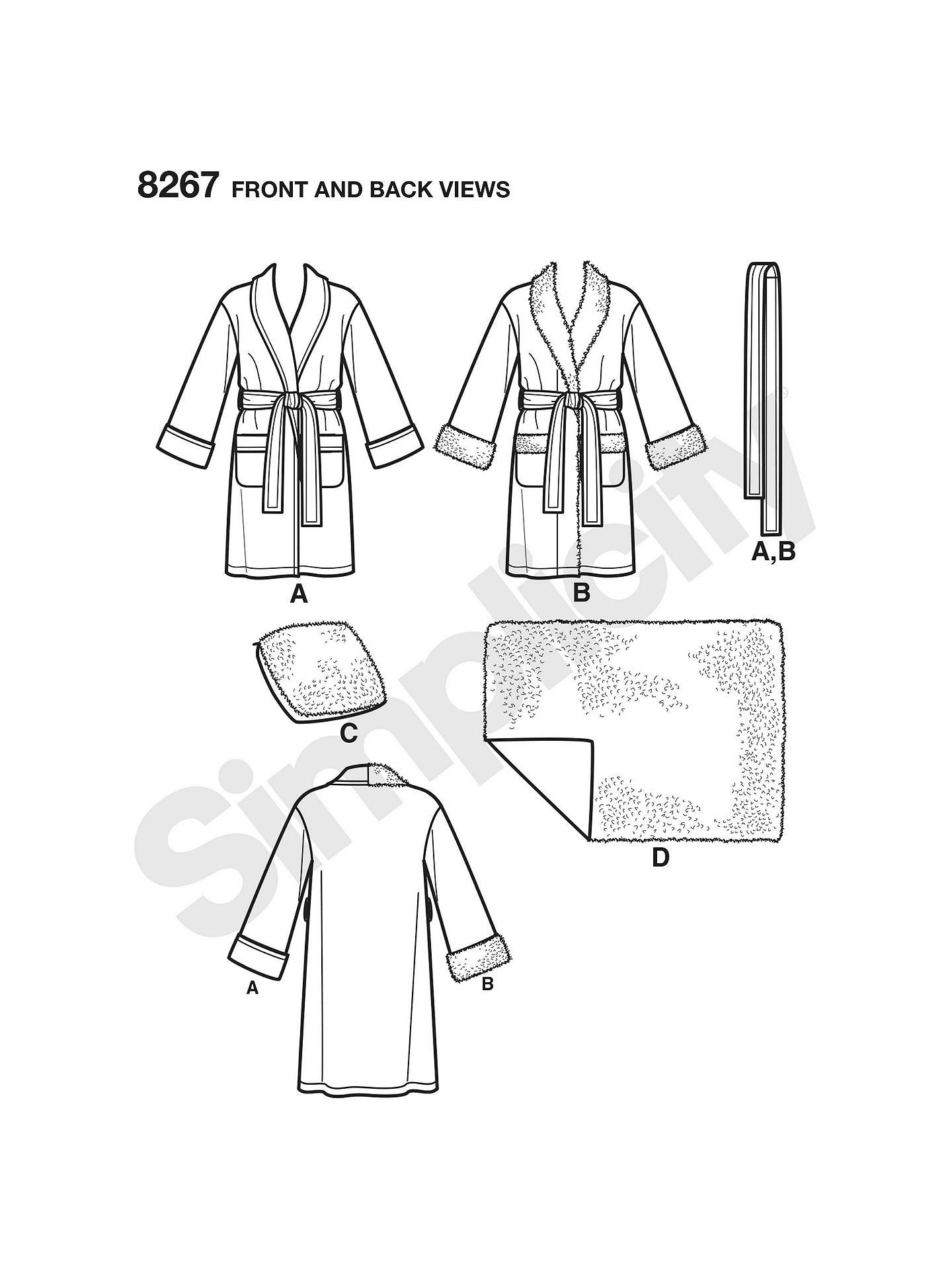 33225bdd3a ... BuySimplicity Unisex Robes