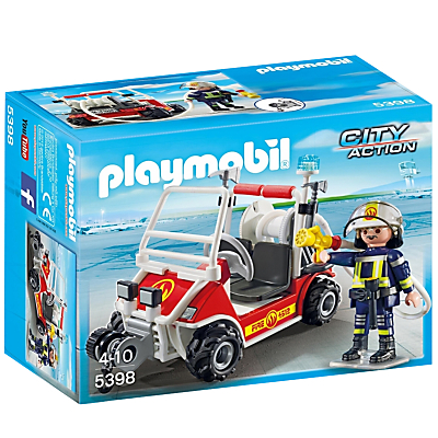 Playmobil City Action Airport Fire Quad