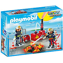 Buy Playmobil City Firefighting Operation Online at johnlewis.com