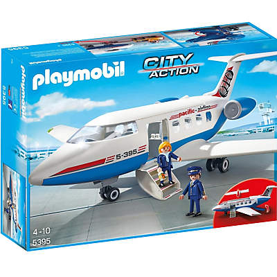 Image of Playmobil City Airport Passenger Plane