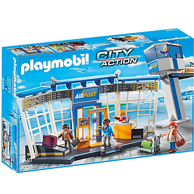 Click here for Playmobil City Action Airport Control Tower