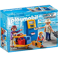 Buy Playmobil City Action Airport Family Online at johnlewis.com