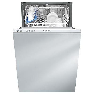 Indesit DISR14B1 Slimline Integrated Dishwasher