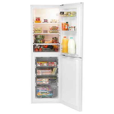 Image of Indesit DAA55NF1 Freestading Fridge Freezer, A+ Energy Rating, 55cm Wide, White