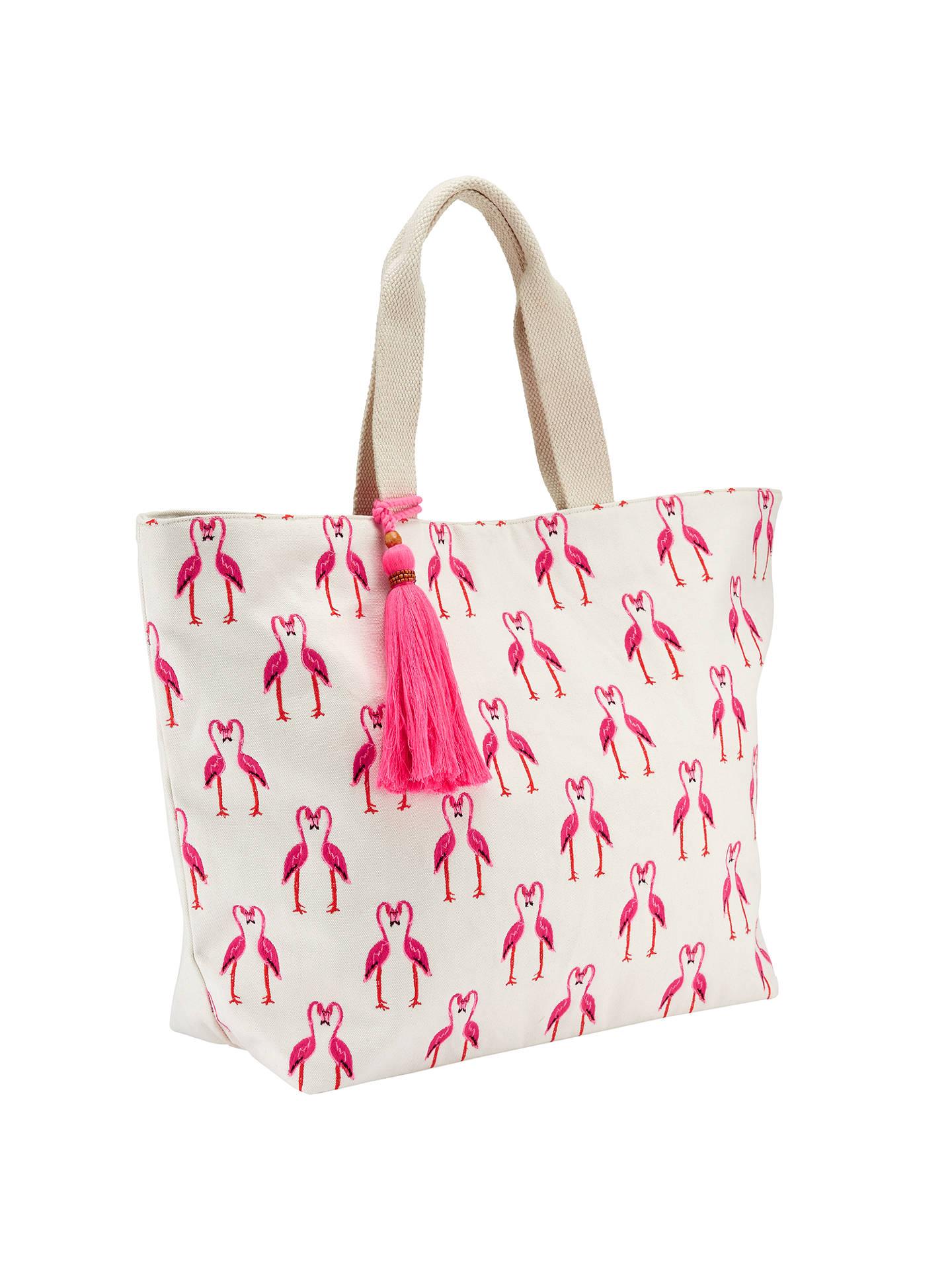 4f5172b1a8bd ... BuyJohn Lewis Flamingo Canvas Tote Bag