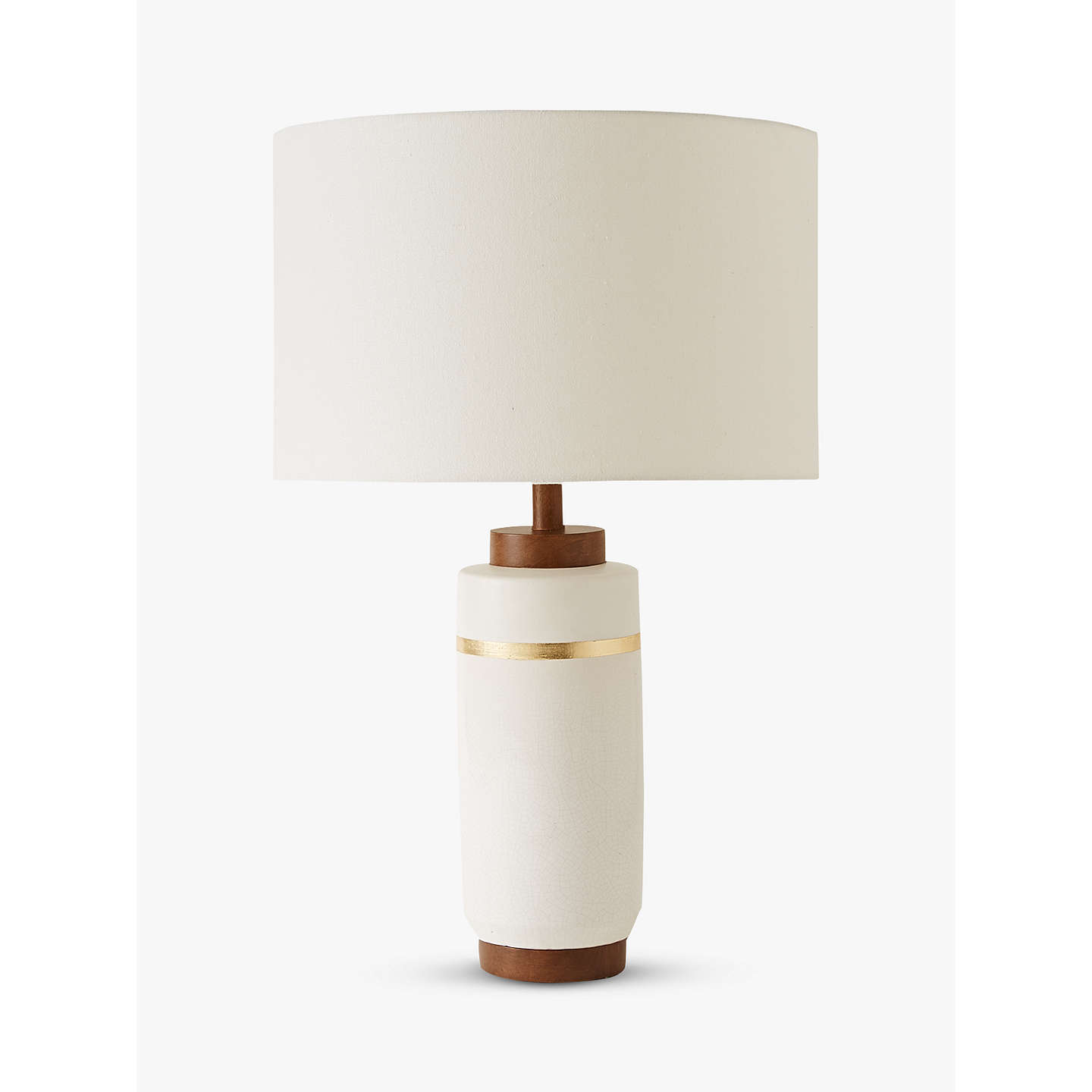 Roar rabbit for west elm crackle glaze table lamp large white at buyroar rabbit for west elm crackle glaze table lamp large white online at aloadofball Image collections