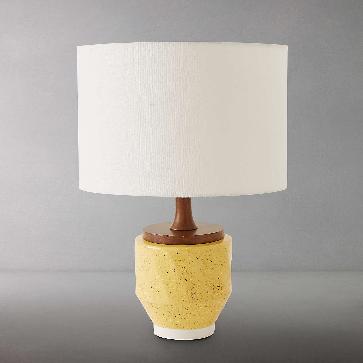 Roar rabbit for west elm ripple large ceramic table lamp yellow buyroar rabbit for west elm ripple large ceramic table lamp yellow online at johnlewis aloadofball Image collections