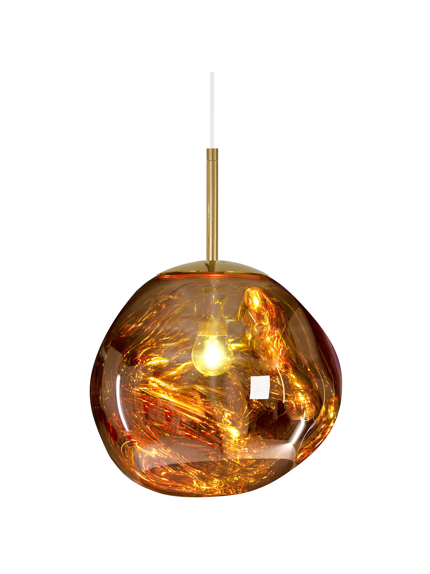 BuyTom Dixon Melt Mini Ceiling Light, Gold Online at johnlewis.com
