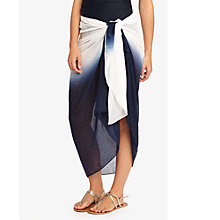 Buy Phase Eight Ombre Sarong, Navy/White Online at johnlewis.com