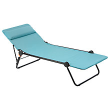 Buy Lafuma Sunside LFM2401 Sunbed, Aqua Online at johnlewis.com