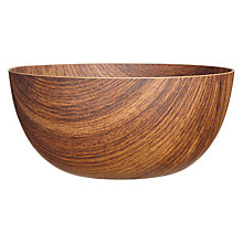 Buy Navigate Wood Effect Bowl, Dia.24cm Online at johnlewis.com