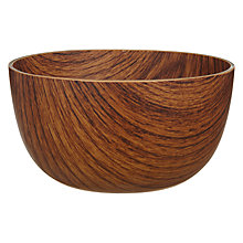 Buy Navigate Wood Effect Bowl, Dia.12cm Online at johnlewis.com