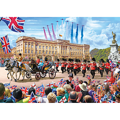 Gibsons Buckingham Palace Jigsaw Puzzle, 500 Pieces