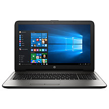 "Buy HP 15-ba047na Laptop, AMD A12, 2TB, 8GB RAM, 15.6"" Full HD Online at johnlewis.com"