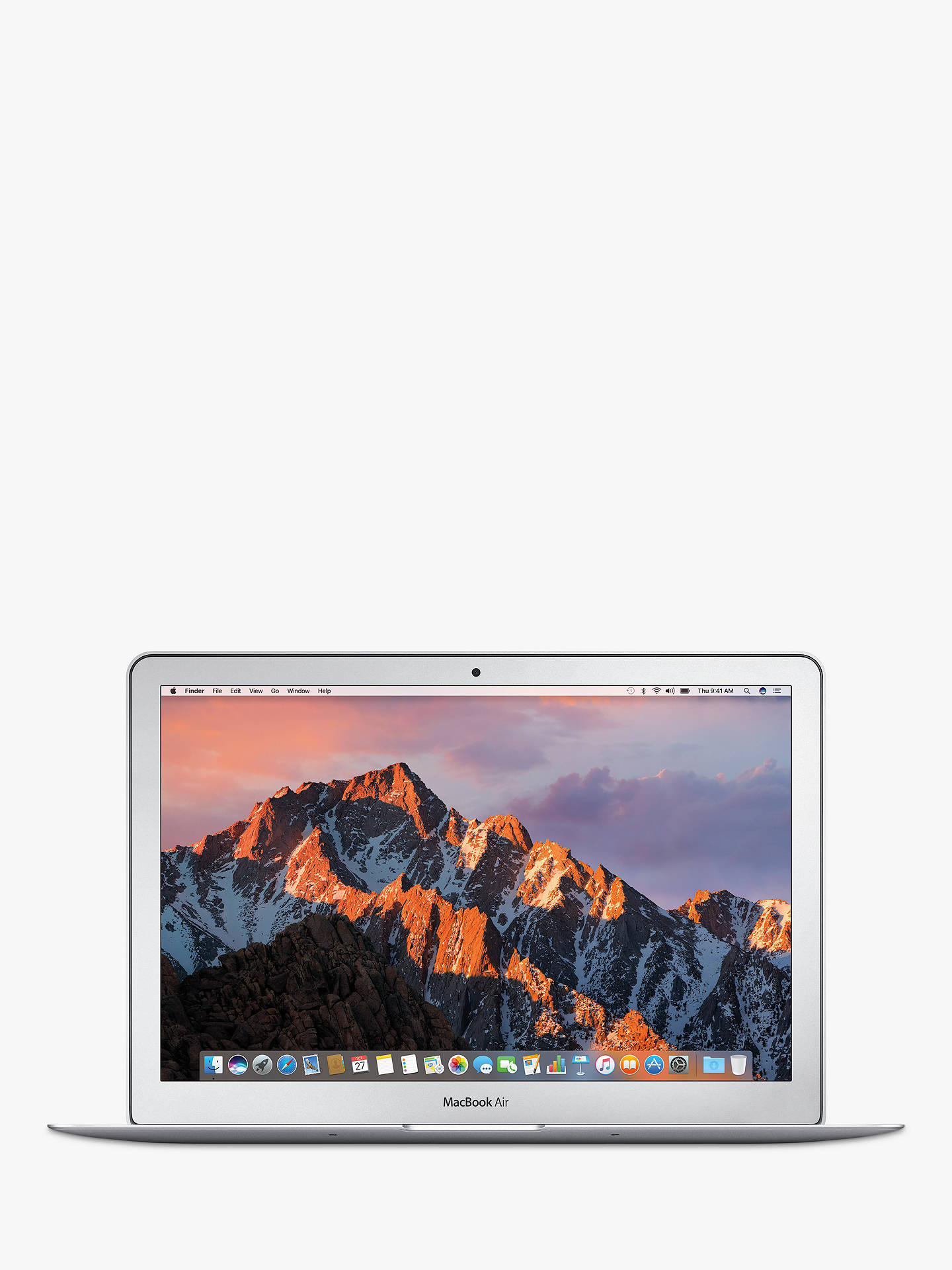 "Buy2017 Apple MacBook Air 13.3"", Intel Core i5, 8GB RAM, 128GB PCIe-based SSD Online at johnlewis.com"