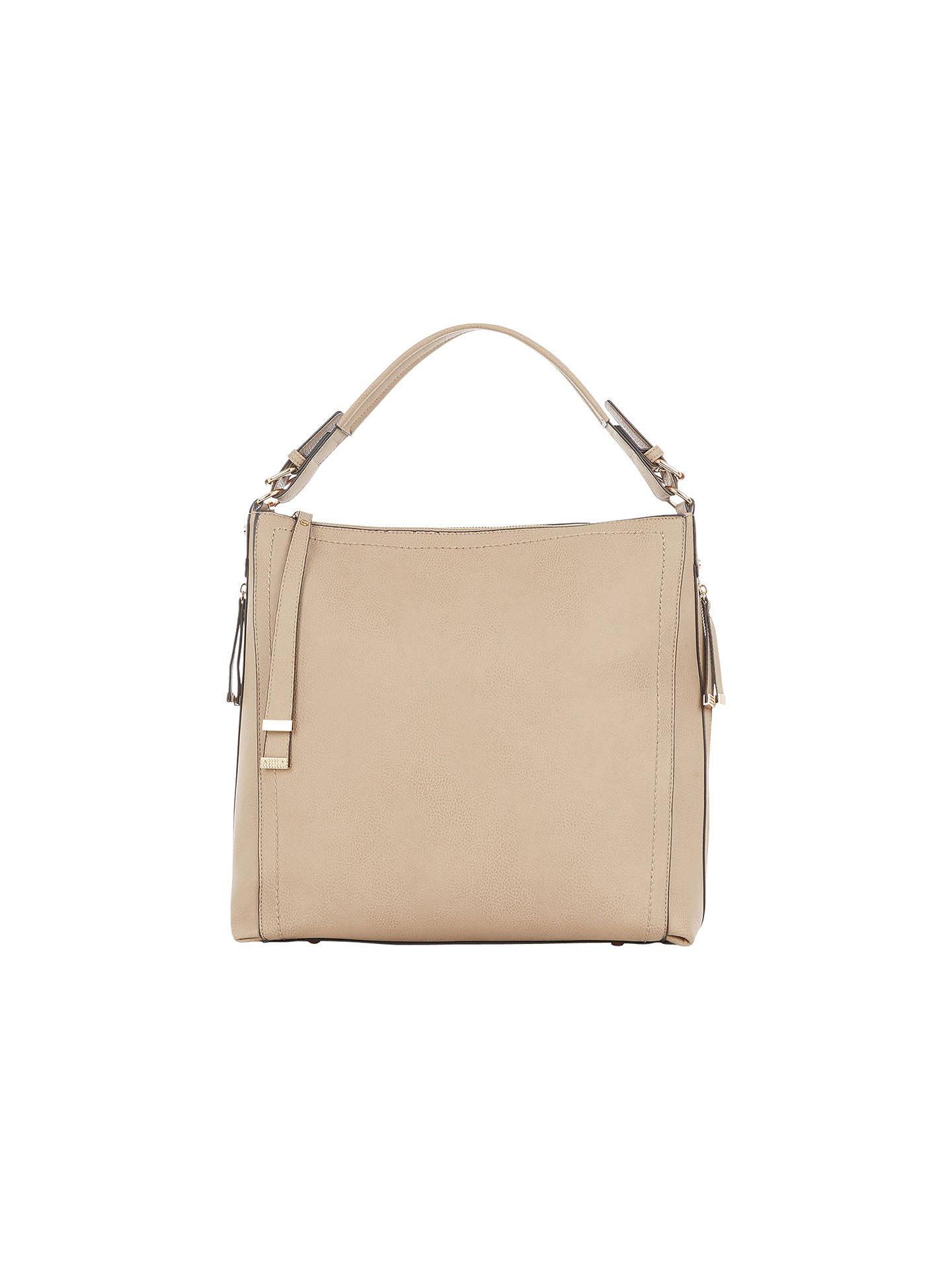 04df88c92ec Buy Oasis Chloe Hobo Bag, Mid Neutral Online at johnlewis.com ...
