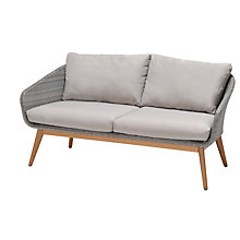 Buy John Lewis Bergen 2-Seater Sofa, FSC-Certified (Eucalyptus), Grey Online at johnlewis.com