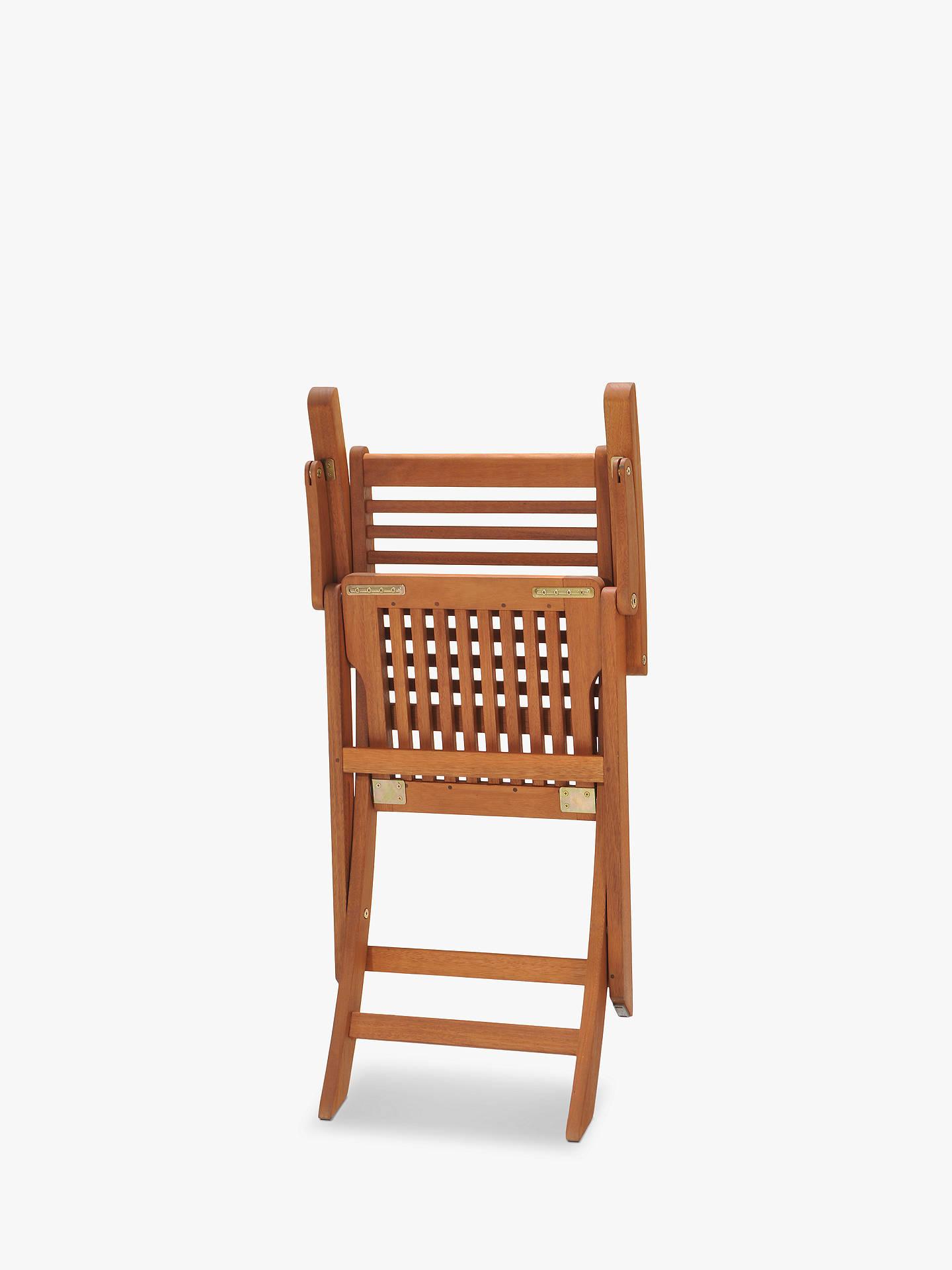John Lewis & Partners Venice Folding Garden Armchairs, FSC ...