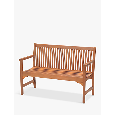 John Lewis Venice 2-Seater Bench, FSC-Certified (Eucalyptus), Natural