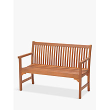 Buy John Lewis Venice 2-Seater Bench, FSC-Certified (Eucalyptus), Natural Online at johnlewis.com