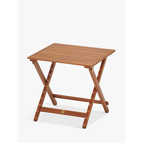 buy john lewis venice folding side table fsc certified. Black Bedroom Furniture Sets. Home Design Ideas
