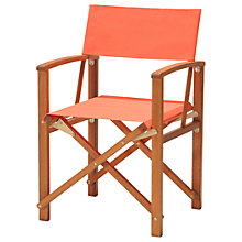 Buy John Lewis Directors Chair, FSC-Certified (Eucalyptus) Online at johnlewis.com