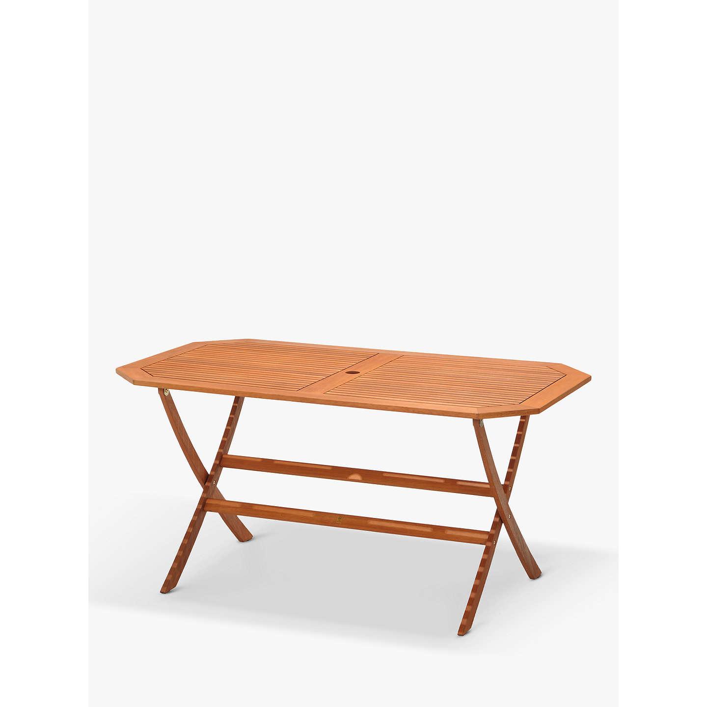BuyJohn Lewis Venice 6 Seater Garden Gateleg Table, FSC Certified ( Eucalyptus), ...