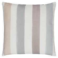 Buy John Lewis Croft Collection Watercolour Stripe Outdoor Cushion Online at johnlewis.com