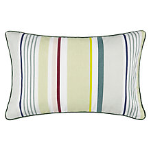 Buy John Lewis Country Stripe Outdoor Cushion, H55 x W35cm Online at johnlewis.com