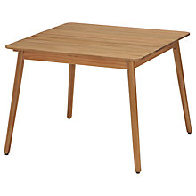 Buy John Lewis Oslo Square Dining Table, FSC-Certified (Eucalyptus), Natural Online at johnlewis.com