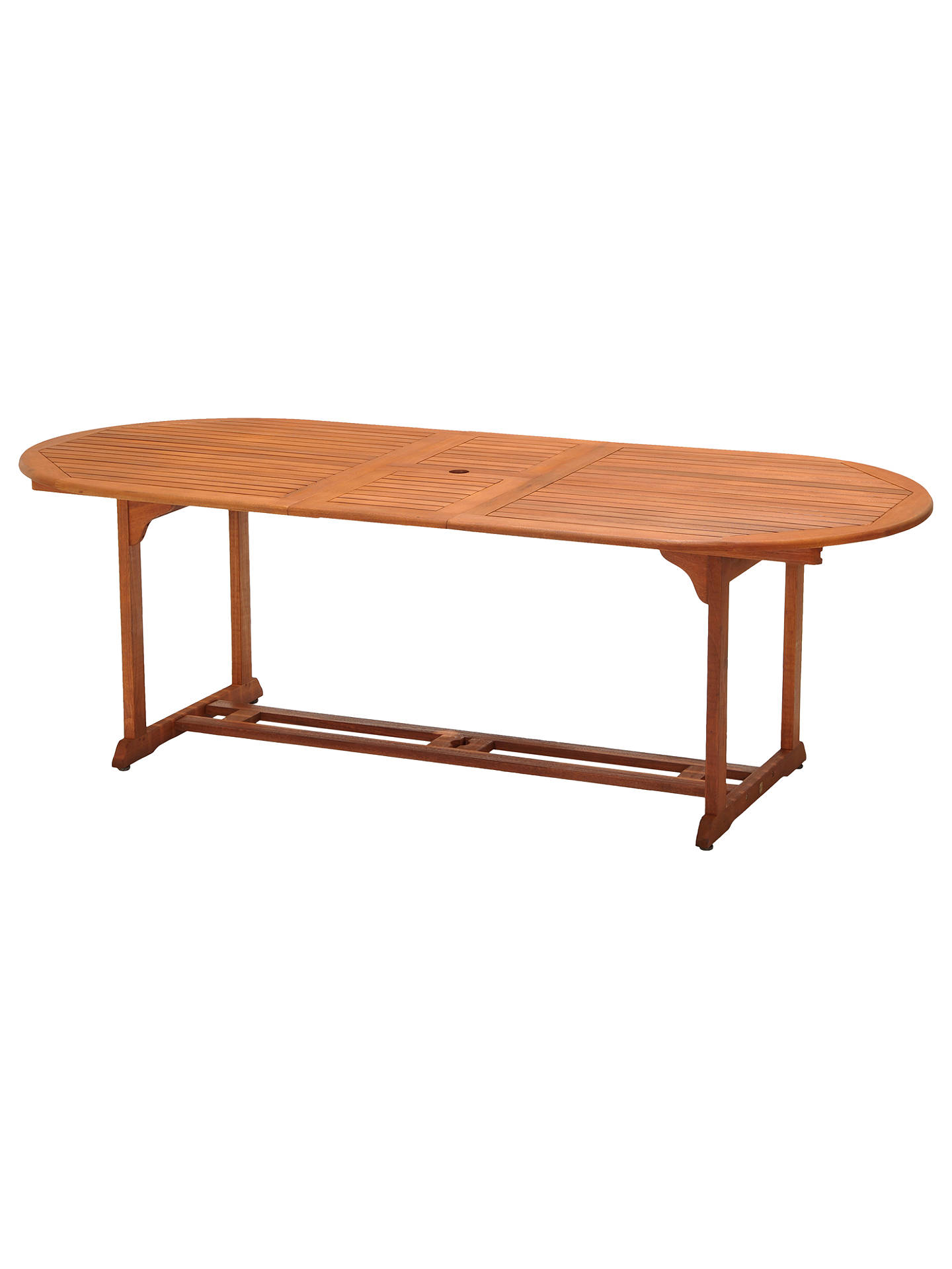 John Lewis & Partners Venice Extending Garden Dining Table, FSC-Certified (Eucalyptus), Natural