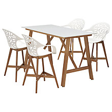 Buy John Lewis Oslo Bar 4 Seater Set, FSC-Certified (Eucalyptus), Natural Online at johnlewis.com