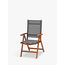 Buy John Lewis Venice Reclining Armchair, FSC-Certified (Eucalyptus), Natural Online at johnlewis.com