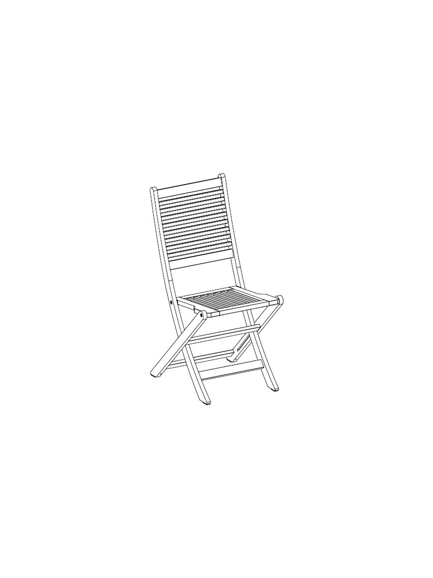 Buy John Lewis & Partners Venice Garden Bistro Set, FSC-Certified (Eucalyptus), Natural Online at johnlewis.com
