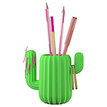 Buy Mustard Cactus Pencil Pot Online at johnlewis.com