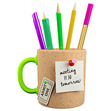Buy Mustard Memo Mug Pen Pot Online at johnlewis.com